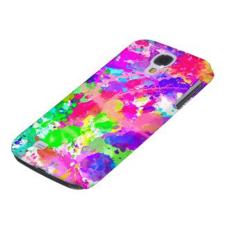 Paint splash colourful HTC vivid covers