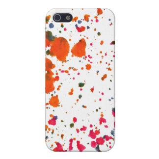 paint splash funky 4 casing iPhone 5/5S case