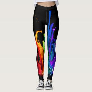 Paint Splash Leggings