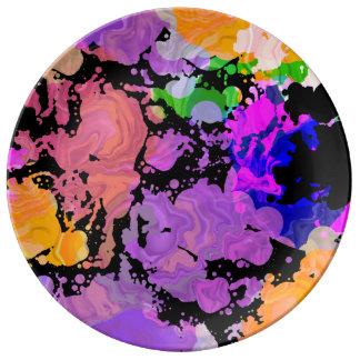 Paint Splash Splatter Print Plate