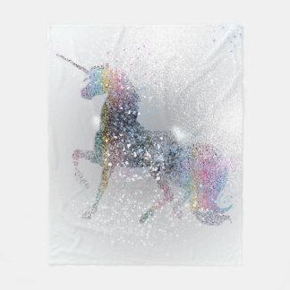 Paint Splash Unicorn Blanket