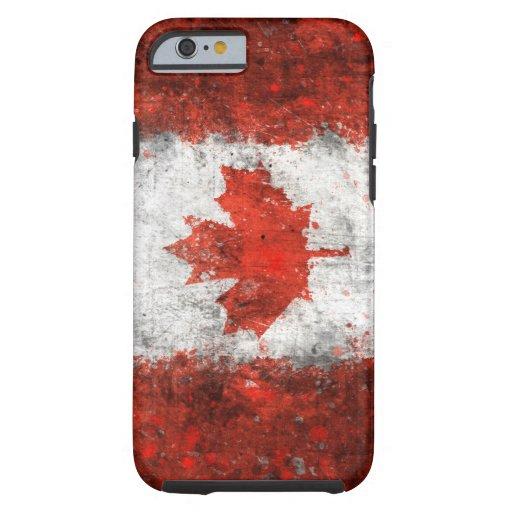 Paint Splatter Canadian Flag iPhone 6 Case