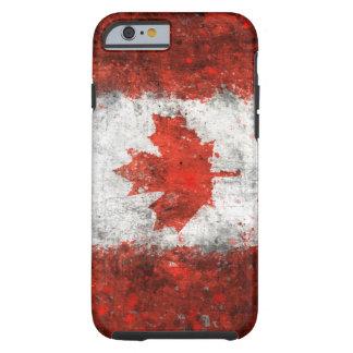 Paint Splatter Canadian Flag Tough iPhone 6 Case