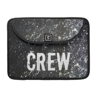 Paint Splatter CREW | Charcoal and White MacBook Pro Sleeves