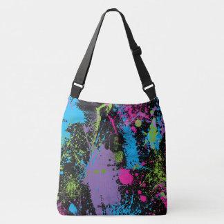 Paint Splatter Crossbody Bag