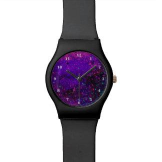 Paint Splatter Galaxy Watch