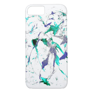 Paint Splatter iPhone 7 Case