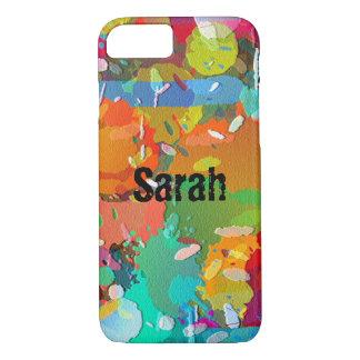 Paint Splatter iPhone Case Customize