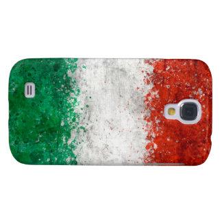 Paint Splatter Italian Flag
