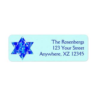Paint Splatter Jewish Star