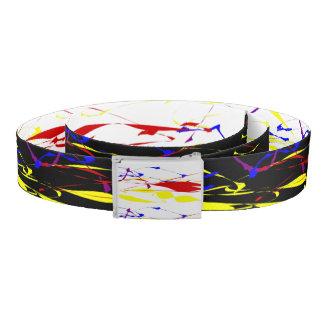 Paint Splatter REVERSIBLE Belt