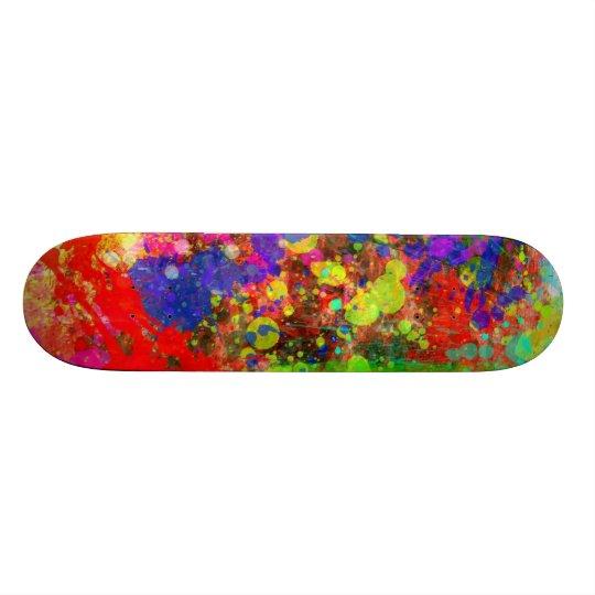 Paint Splatter Skate Decks