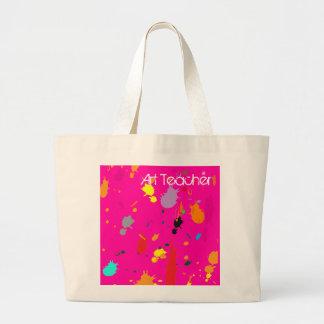 Paint Splatter Tote Bag