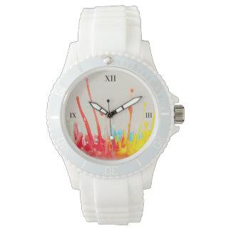 Paint Splatter Watch