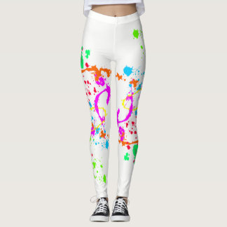 Paint Splotches Leggings