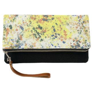 Paint Spots Clutch Bag