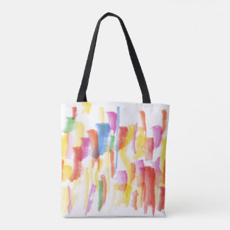Paint Stained Tote