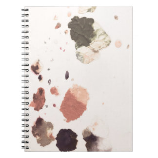 Paint stains Notebook