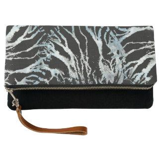 Paint Strokes Clutch Bag