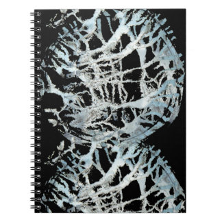 Paint Strokes Notebook