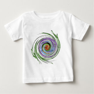 paint swirl artistic paint for insperatiom baby T-Shirt