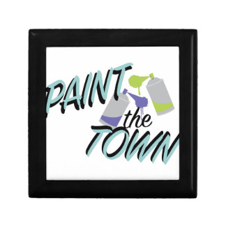 Paint The Town Jewelry Box
