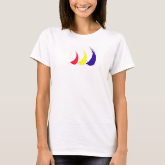 Paint-The-Wind Splashy Sails_t-shirt T-Shirt