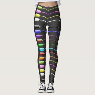 paint tubes - leggings