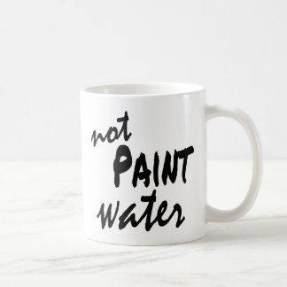 Paint Water Not Paint Water Matching Mugs