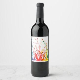 Paint Wine Label
