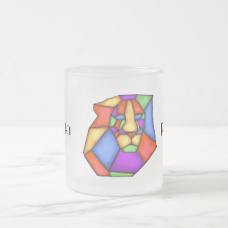 Paint Your Love Frosted Glass Mug