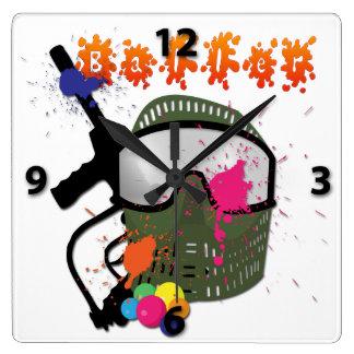 Paintball - Baller Wall Clock