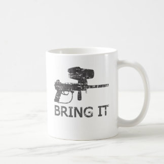Paintball Bring it Coffee Mug