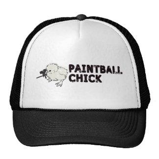 Paintball Chick Trucker Hat