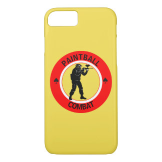 Paintball Combat iPhone 8/7 Case