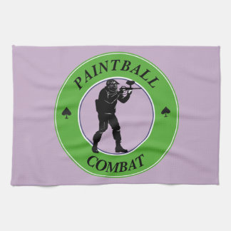 Paintball Combat Kitchen Towel