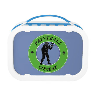 Paintball Combat Lunch Box
