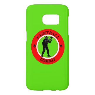 Paintball Combat Samsung Galaxy S7 Case
