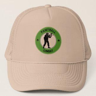 Paintball Combat Trucker Hat