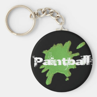 PAINTBALL FANATIC KEYCHAIN