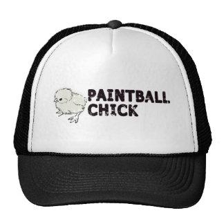 Paintball Girl Trucker Hat