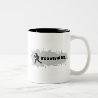 Paintball is a Way of Life Two-Tone Coffee Mug