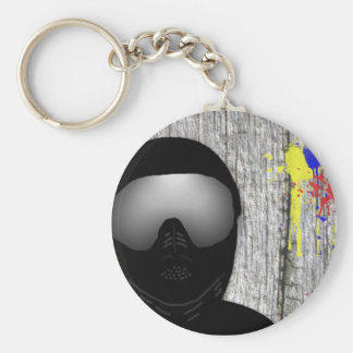 Paintball Keychain