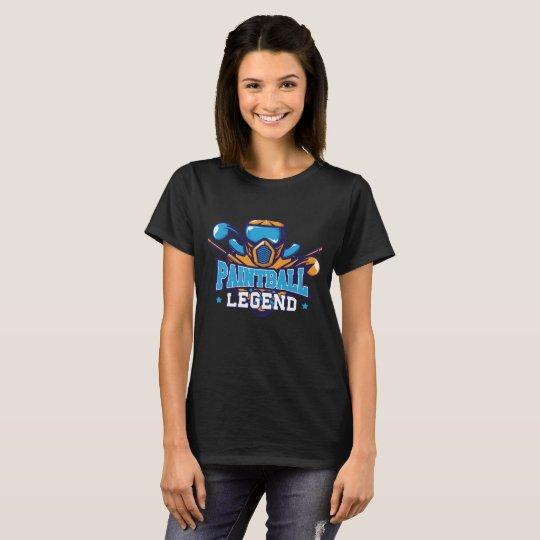 Paintball Legend Extreme Sports Pro Amateur T-Shir T-Shirt