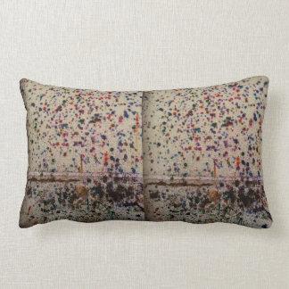 paintball lumbar pillow