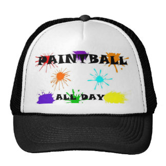 paintball splat hat