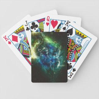 Paintball surreal poker deck