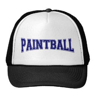 Paintball University Style Trucker Hat
