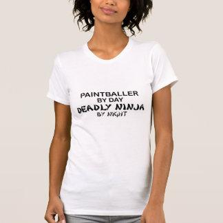 Paintballer Deadly Ninja by Night Tshirts