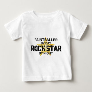 Paintballer Rock Star by Night Baby T-Shirt